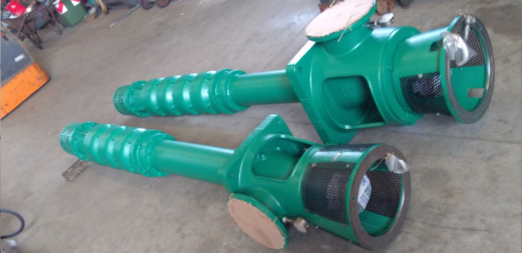 Centrifugal pumps repair