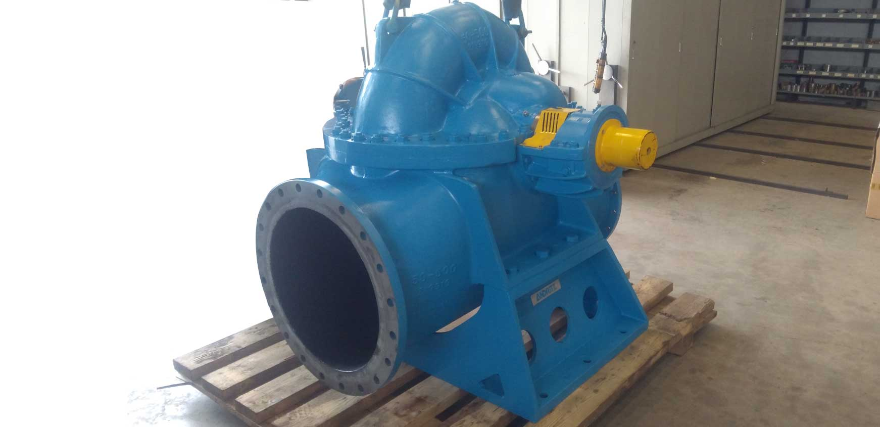 Andriz pump repair