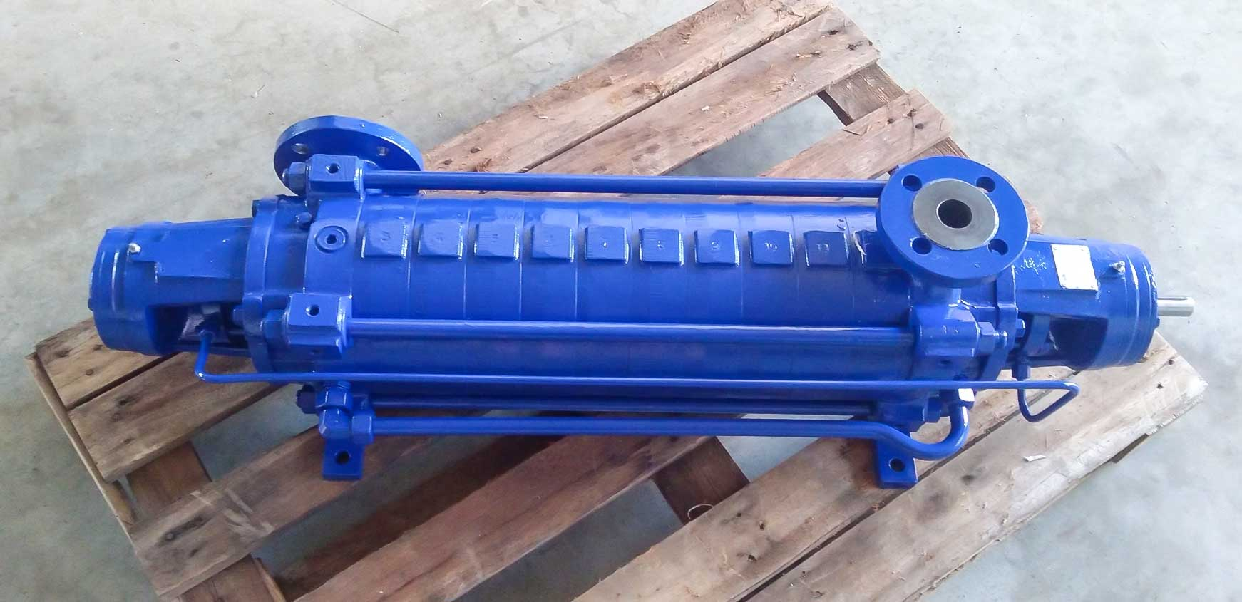 Ksb multistage pump repair