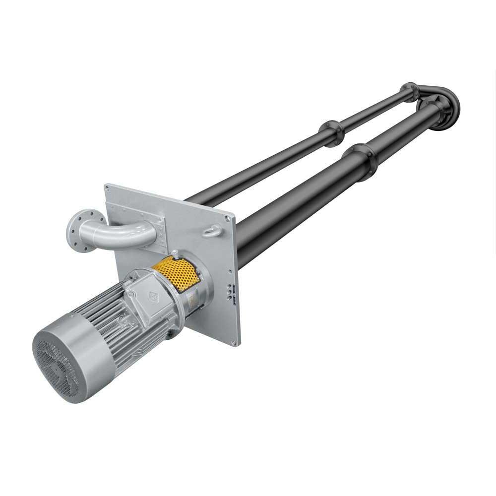 Impeller vertical centrifugal pumps